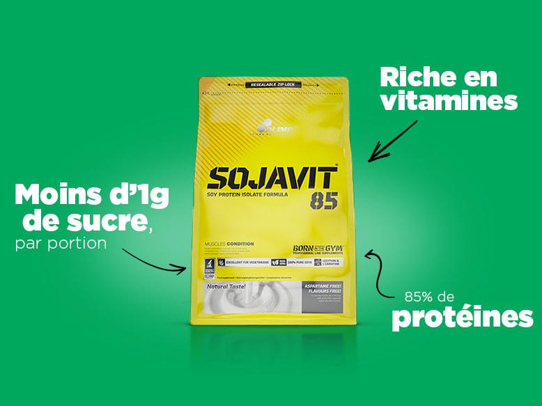 Protéines Végétales Sojavit 85 Olimp Nutrition