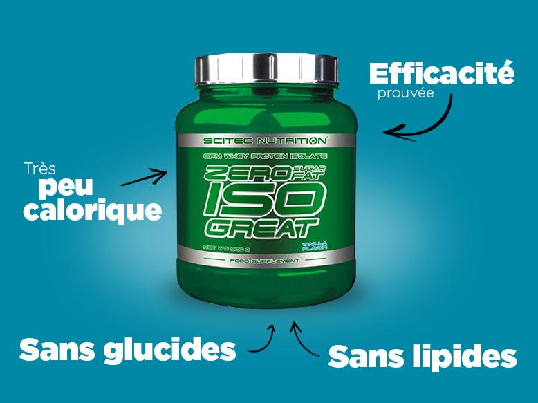 Zero Sugar Zero Fat Iso Great Scitec Nutrition