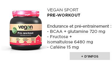 pre-workout Vegan Sport
