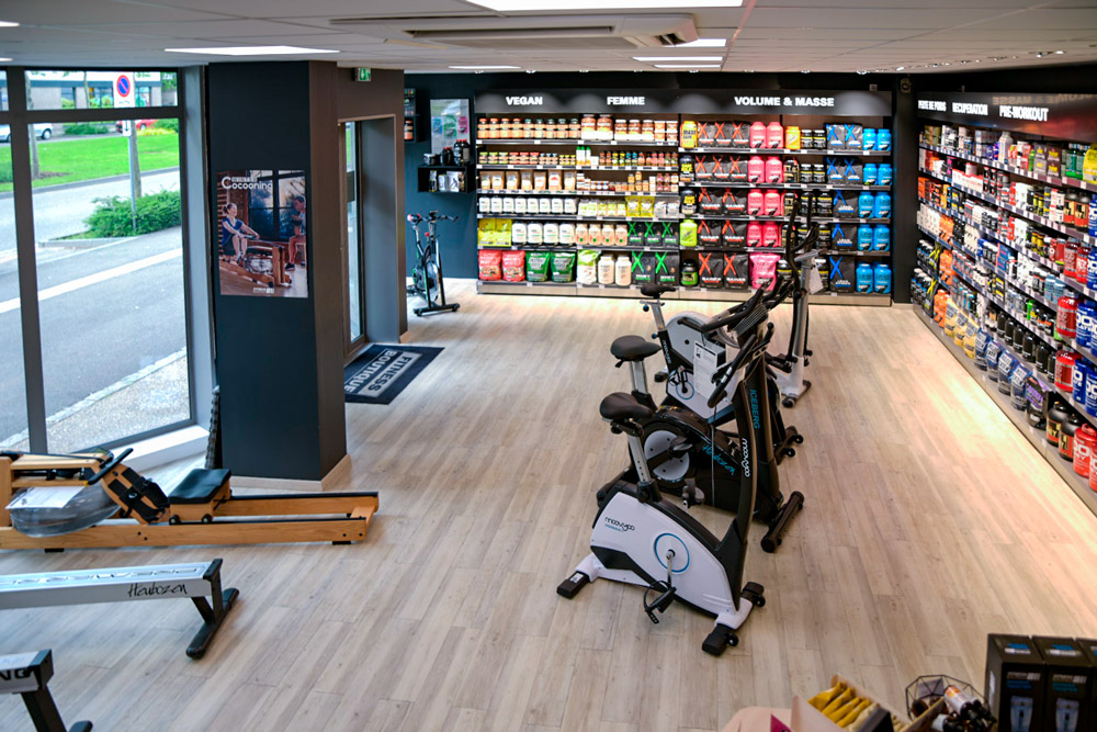 Strasbourg Rhin Magasin Fitness Boutique