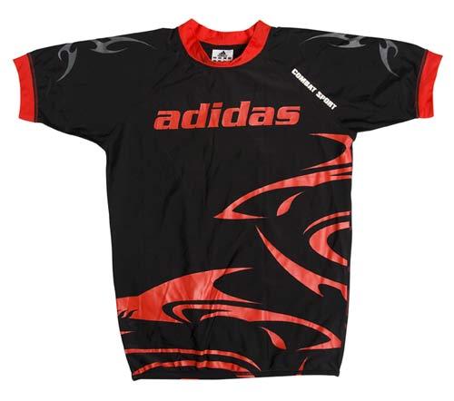 Adidas T Shirt Rasguard SHARK Taille S