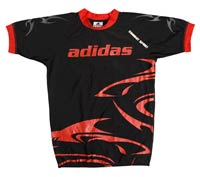 Vetement de sport homme haut du corps Adidas T Shirt Rasguard SHARK Taille S