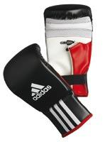 Gant de boxe  Gants de sac Response Noir/Blanc taille L/XL