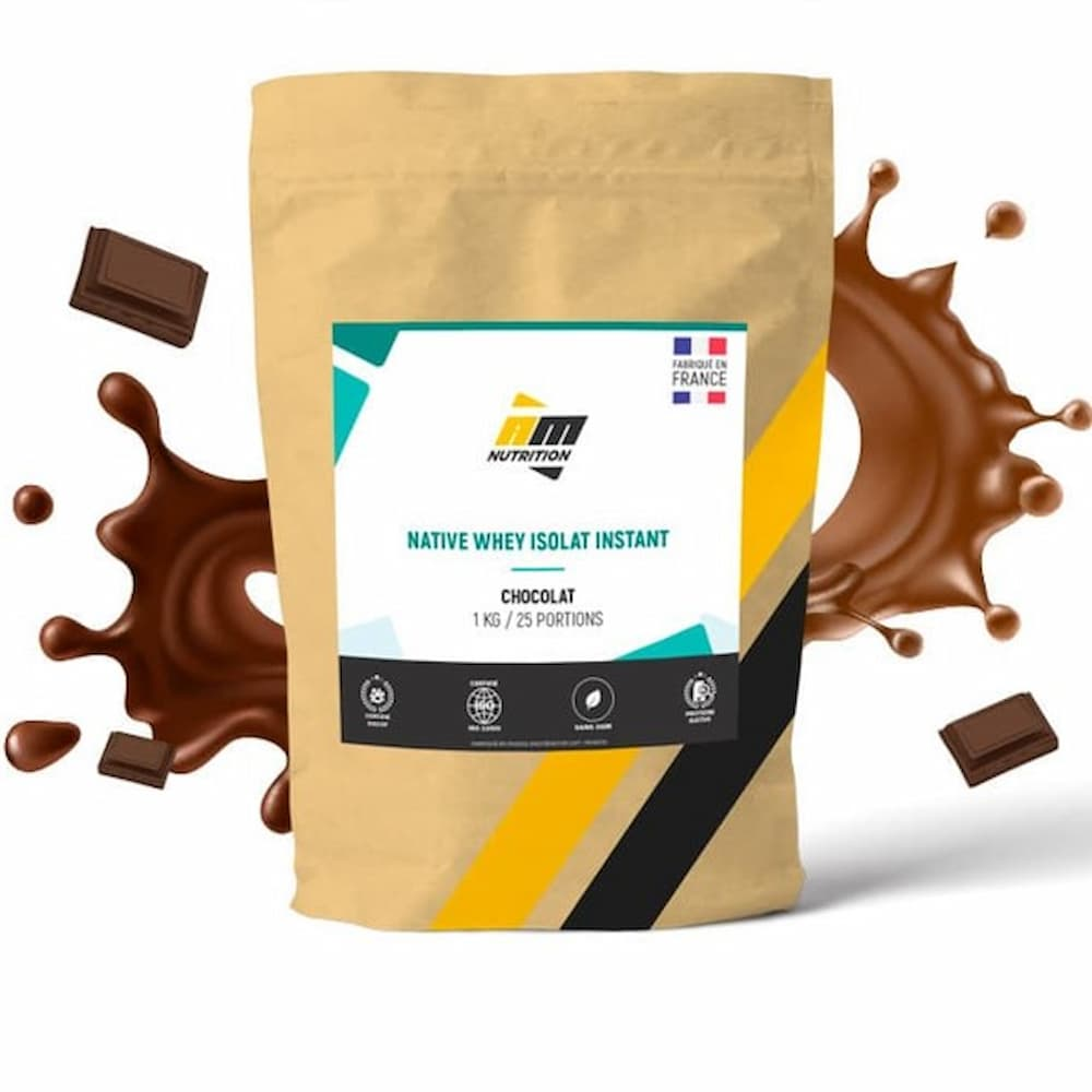 AM Nutrition Native Whey Isolat Instant