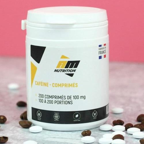 Caféine AM Nutrition Caféine 100 mg