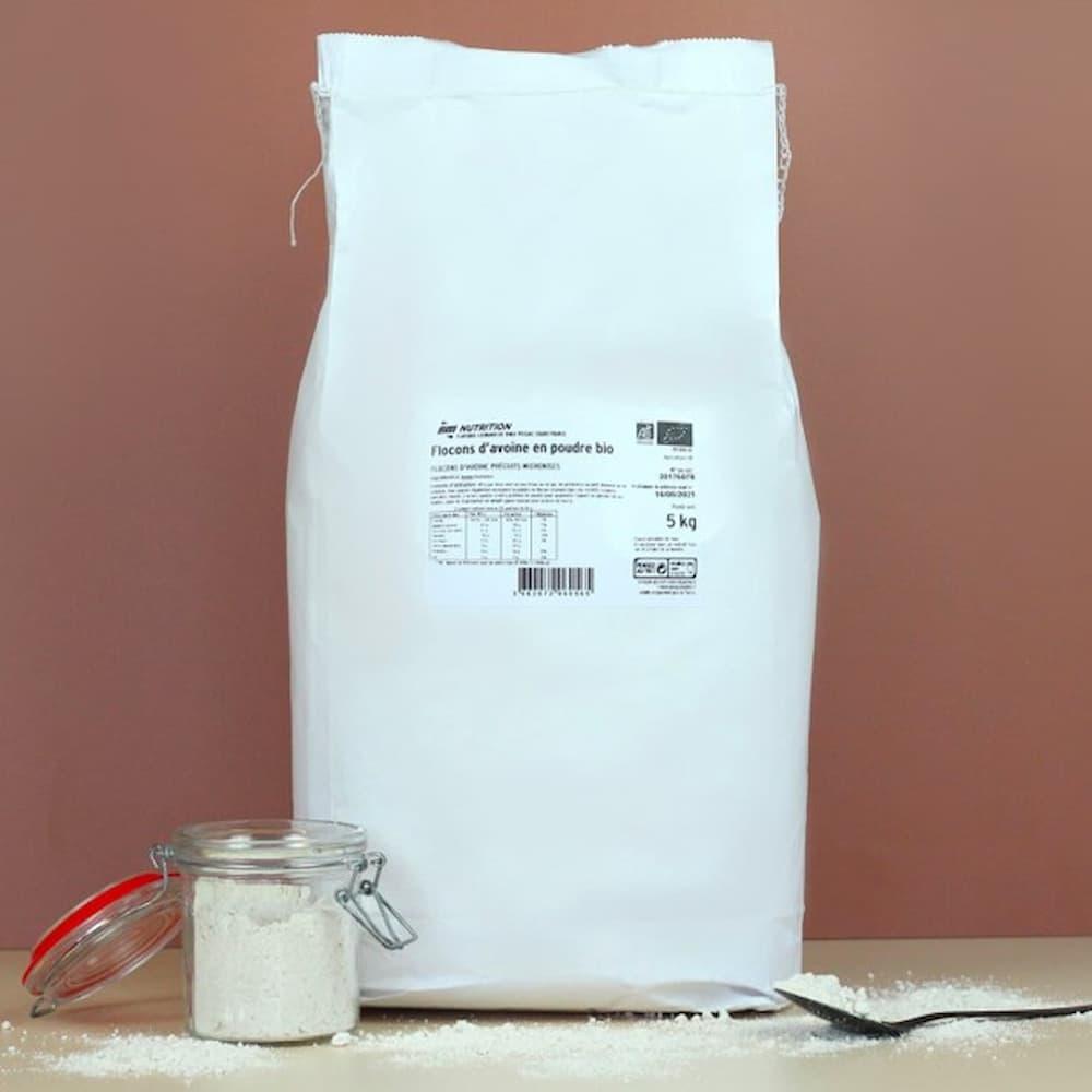 AM Nutrition Flocons d'avoine en poudre Bio
