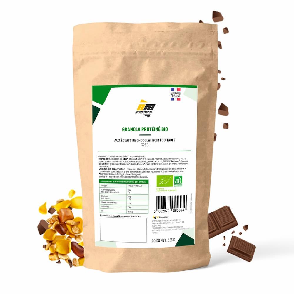 AM Nutrition Granola protéiné Bio