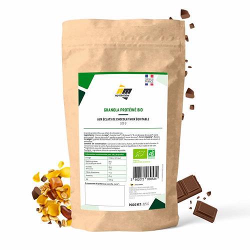 Granola, Muesli, Bowl Granola protéiné Bio AM Nutrition - Fitnessboutique