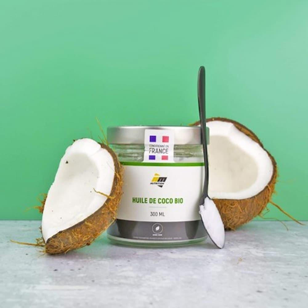AM Nutrition Huile de coco Bio