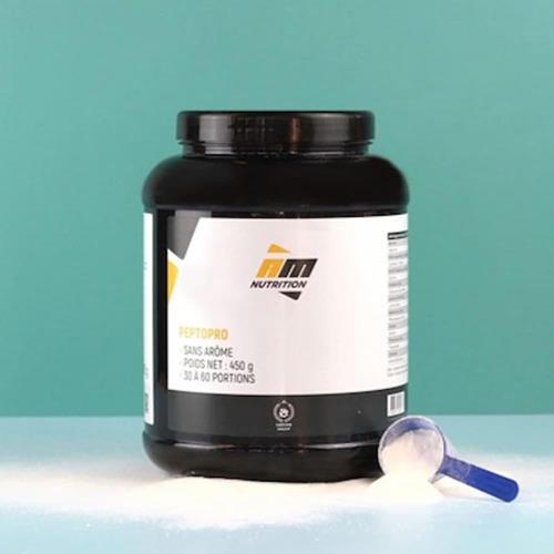 Caséine AM Nutrition PeptoPro  Pot de 450 g