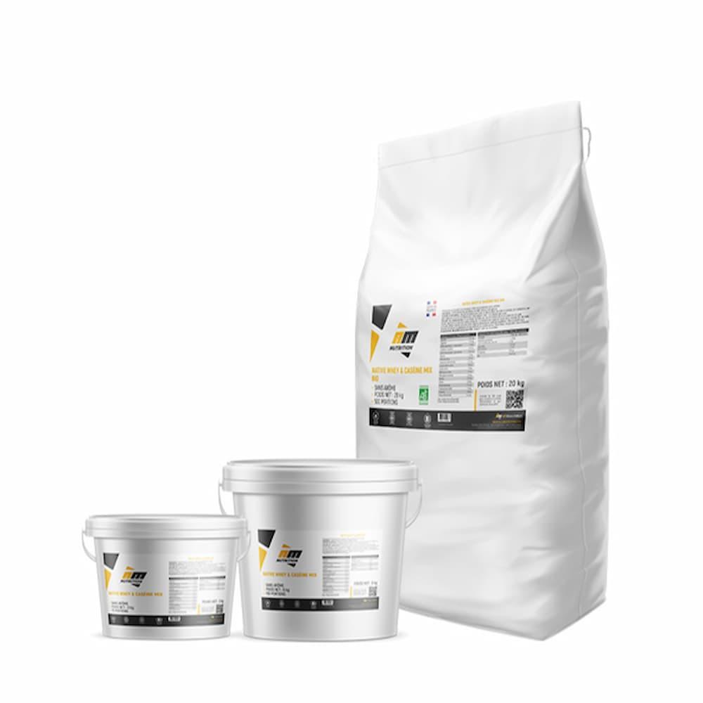 AM Nutrition Native Whey & Caséine Mix Bio