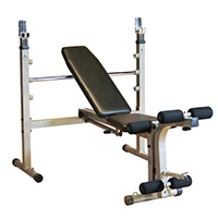 Banc de musculation Best Fitness Banc Home Olympique pliable