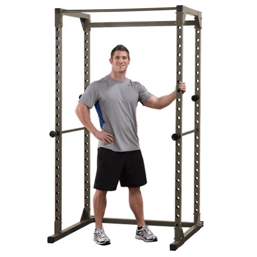 Cage à squat Best Fitness Power Rack