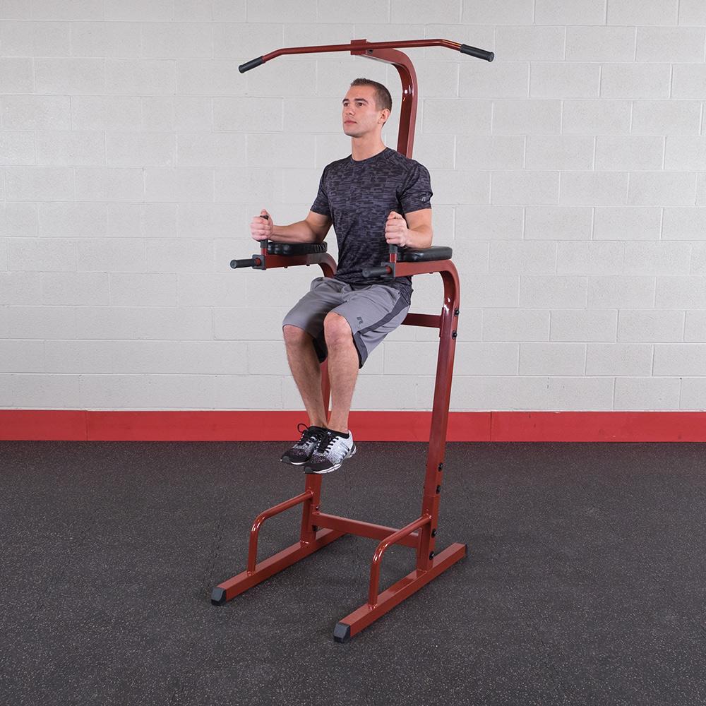 Best Fitness Poste Abdo lombaire BFVK10 Rouge