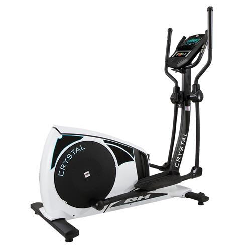 Vélo elliptique Bh fitness Crystal TFT blanc