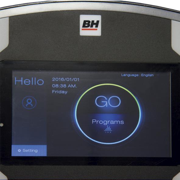 Bh fitness Carbon Bike TFT