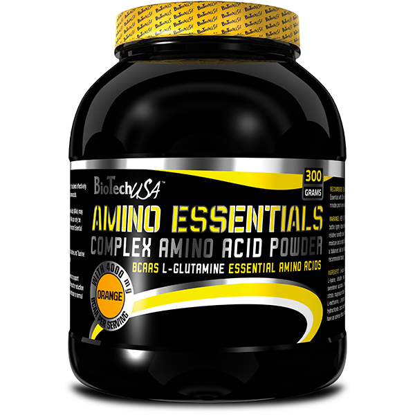 Acides aminés - Biotech USA Amino Essentials Citron ...
