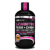 Sèche - Définition Biotech USA L Carnitine 70000 Chrome