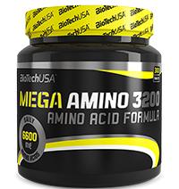 Acides aminés Biotech USA Mega Amino 3200