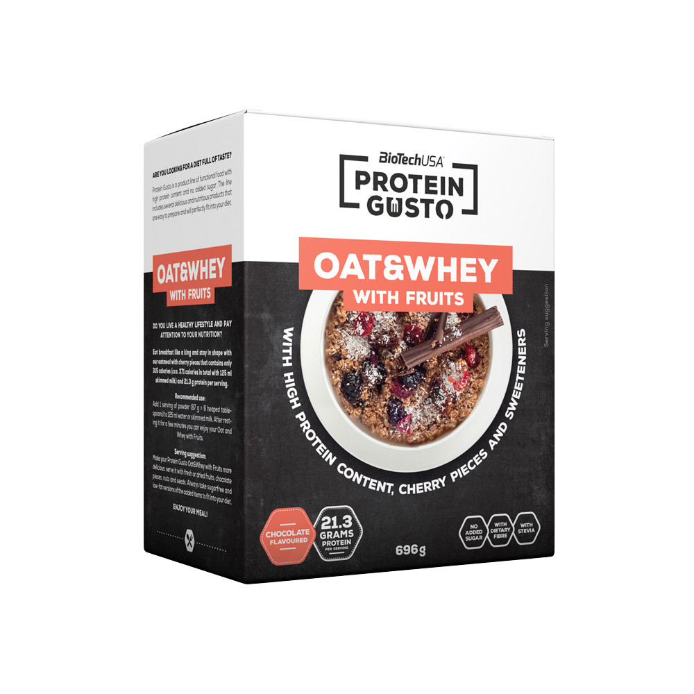 Biotech USA Oat Whey Avec Fruits