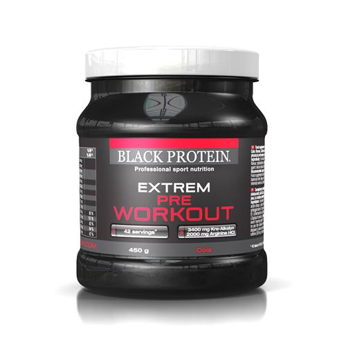 pre workout Extrem Pre WorkOut Black Protein - Fitnessboutique