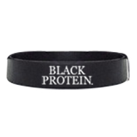 Shaker BLACK-PROTEIN Bracelet Black Protein