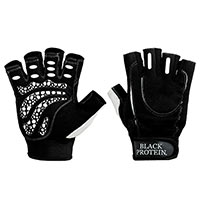 Gants Musculation BLACK-PROTEIN Attack