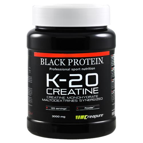 Black Protein K 20 Creatine