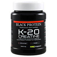creapure K 20 Creatine Black Protein - Fitnessboutique