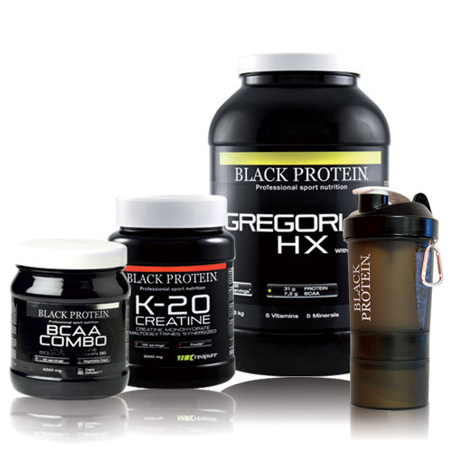 Gainer black protein pack prise de masse 13 chocolat for Prise de masse