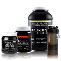 Gainer Black Protein Pack Prise de Masse 13