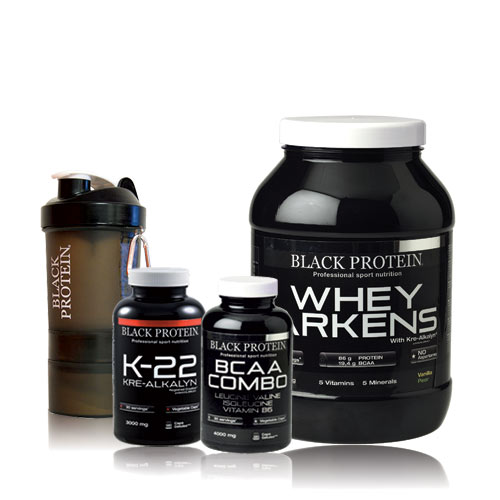 Black Protein Pack Prise de Muscle 13