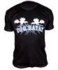 Vetement de sport homme haut du corps T-Shirt Black Protein Coqbatay L