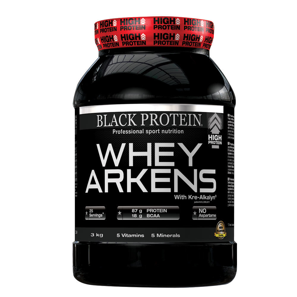 Protéines Black Protein Whey Arkens Isolate