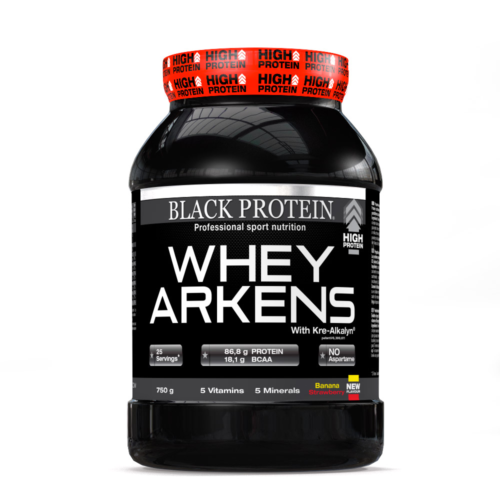Black Protein Whey Arkens Isolate