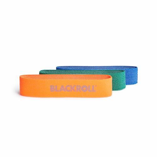 Elastique - Rubber Blackroll Loop Band Set - 3 élastiques