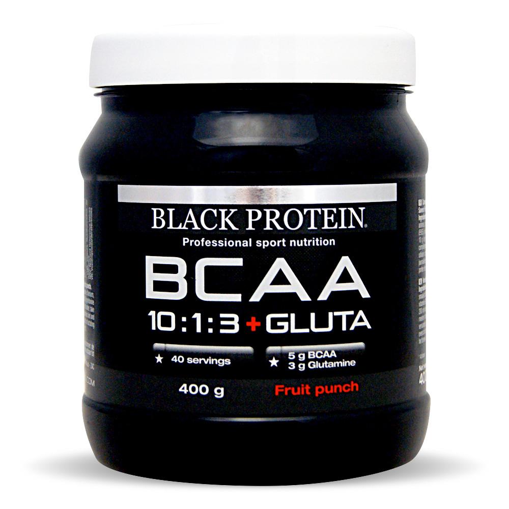 Black Protein BCAA 10:1:3 Vegan + Gluta / BCAA