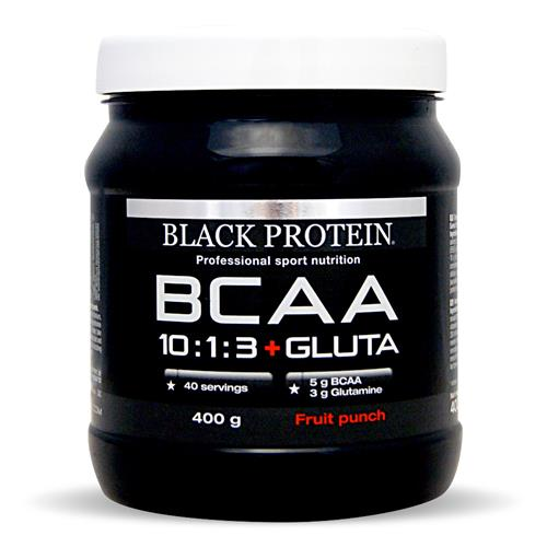Acides aminés Black Protein BCAA 10:1:3 Vegan + Gluta