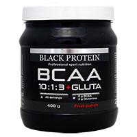 Acides aminés BLACK-PROTEIN BCAA 10:1:3 + Gluta