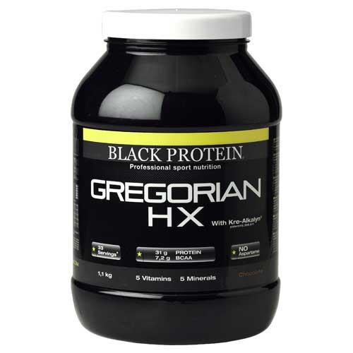 Prise de masse Black Protein Gregorian Hx