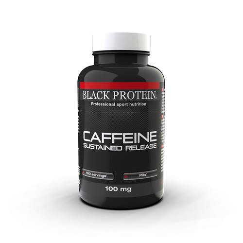 Caféine Caffeine sustained release Black Protein - Fitnessboutique