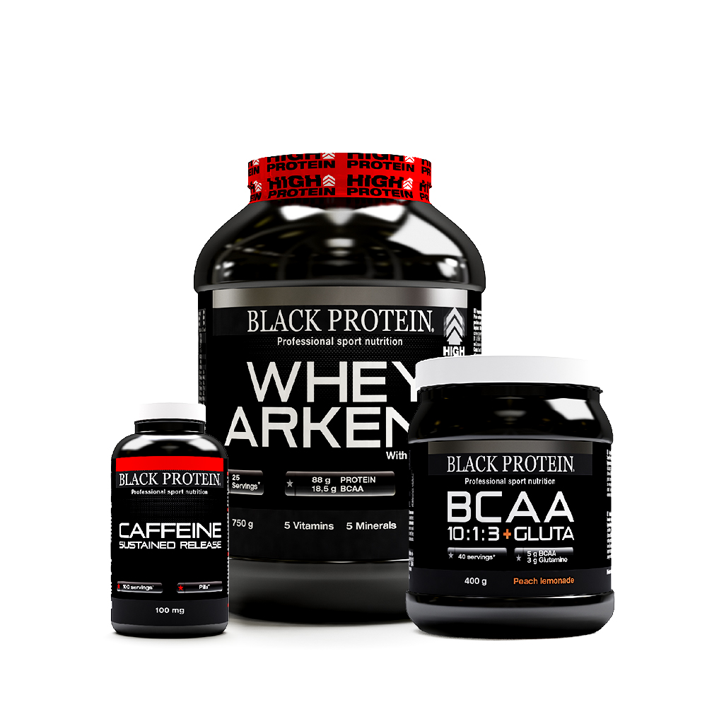 Black Protein Pack Black Protein Back To Gym - Version Whey Pêche Mangue