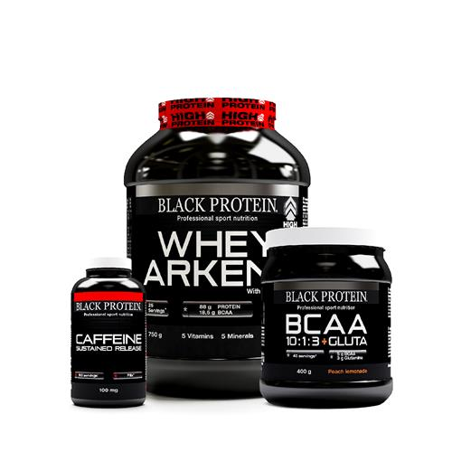 Protéines Black Protein Pack Black Protein Back To Gym - Version Whey Pêche Mangue
