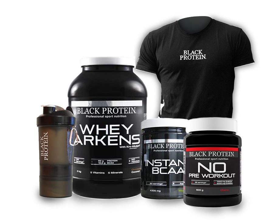 Whey protéine Pack Black Training BLACK-PROTEIN 3kg 600g ...