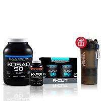 Protéines Pack Sèche Black Protein - Fitnessboutique