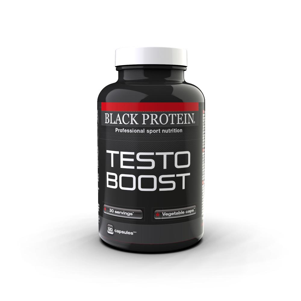 Détails Black Protein Testo Boost