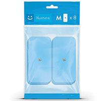 Electrostimulation Bluetens Pack de 8 électrodes M