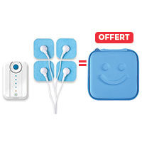 Electrostimulation BLUETENS 1 Bluetens acheté = 1 étui de transport OFFERT