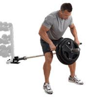 Accessoires de Musculation Lat Blaster Bar et T Bar Row Platform