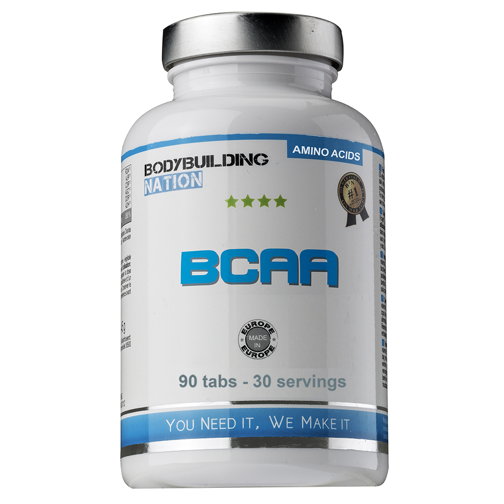 Acides aminés BodyBuilding Nation BCAA